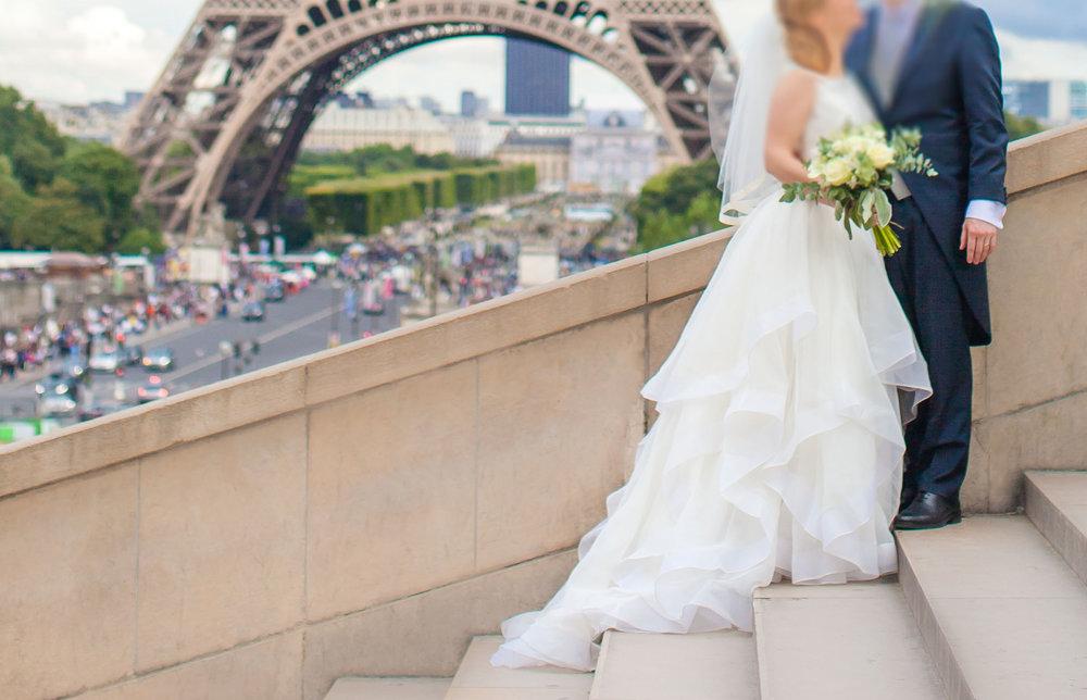 Private wedding in Paris