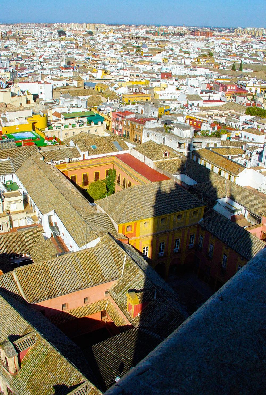 La Giralda Shadow in Seville