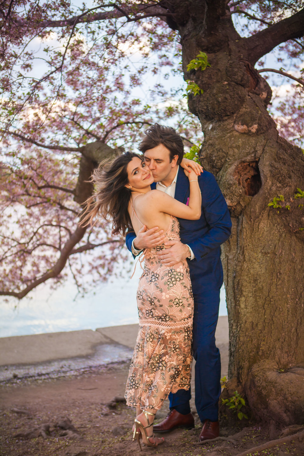 Hannah & Joe Cherry Blossom Engagement - 007.jpg