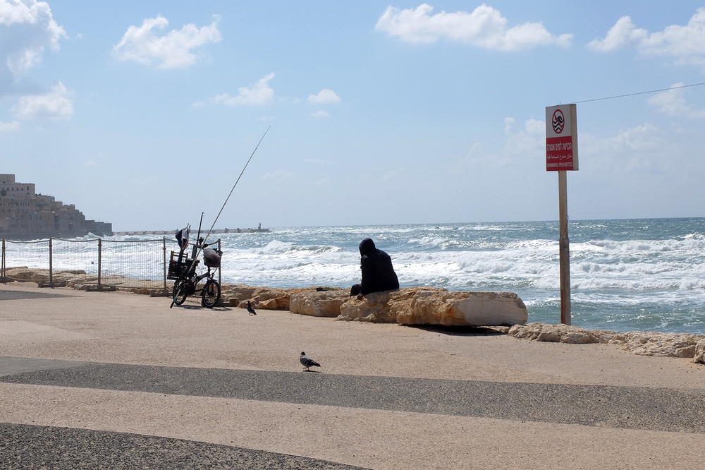 Untitled (fisherman)  TelAviv Israel 2016