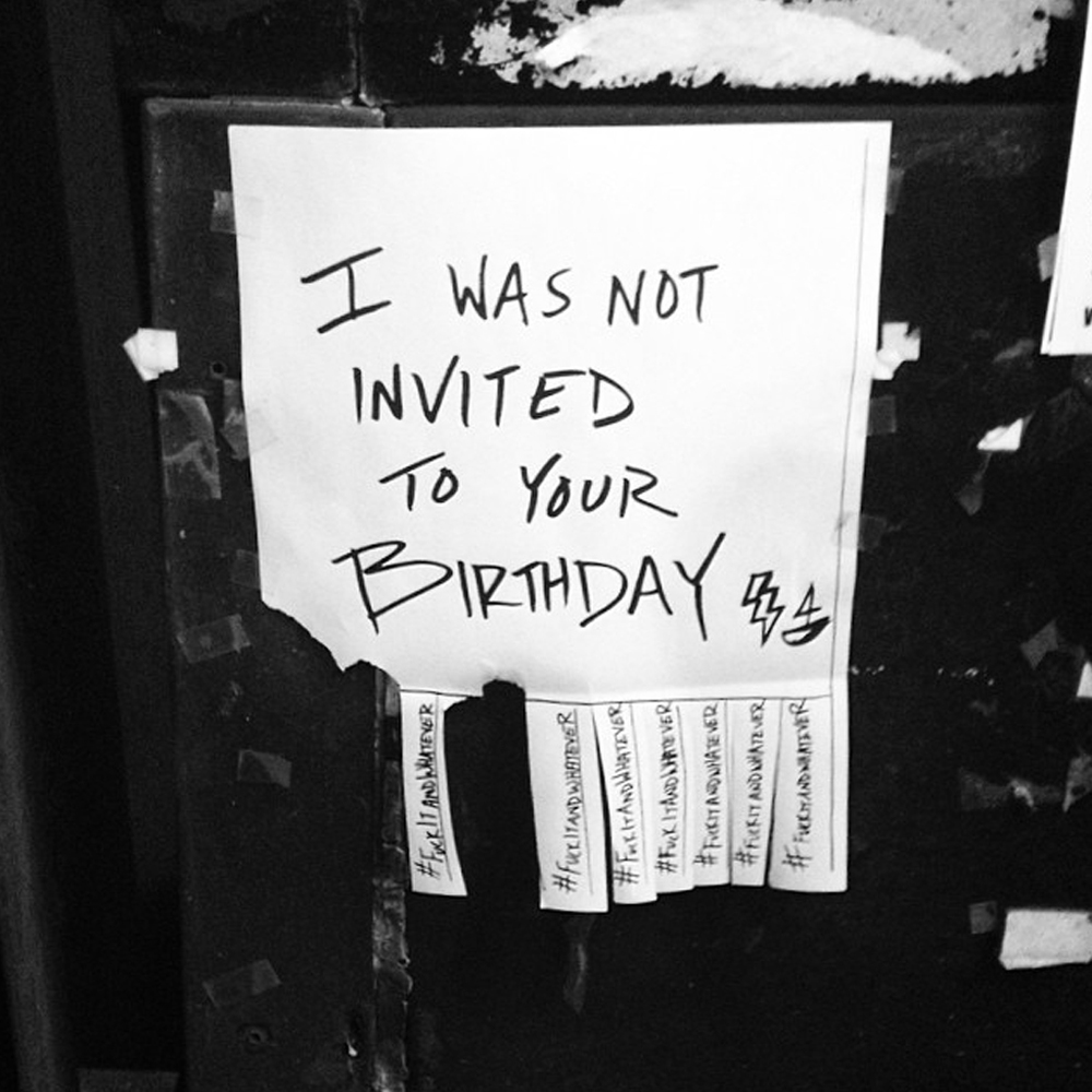 Birthday  Brooklyn NY 2015