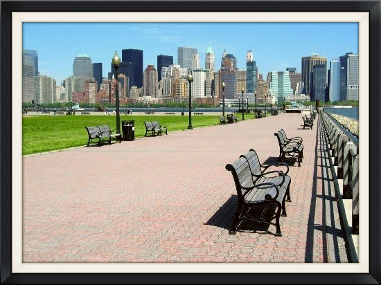 Liberty Park Boardwalk, Jersey City, NJ