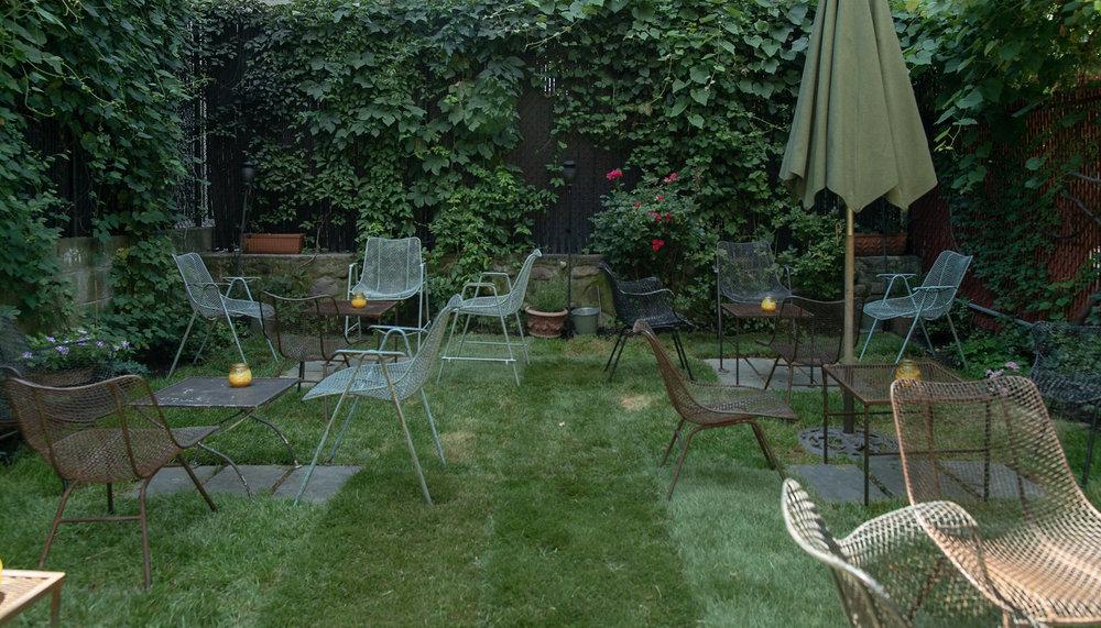 covenhoven backyard seating