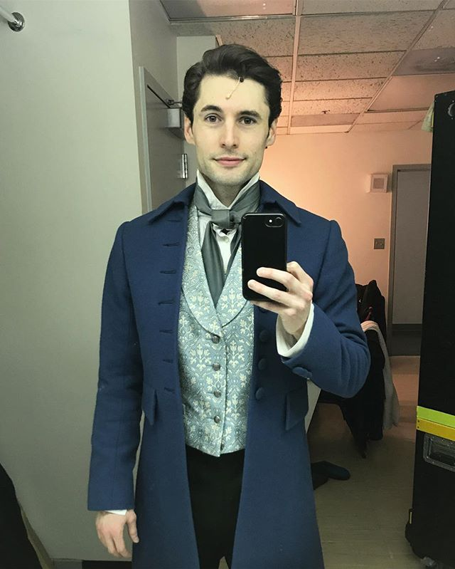 Playing Marius tonight as we open in Ottawa! #LesMizUS #heartfulloflove #andbelting 💌