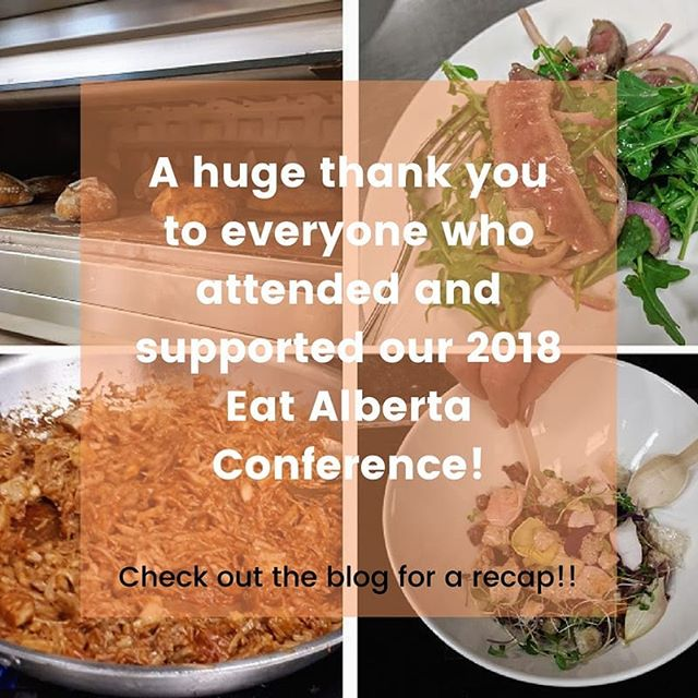 "So proud of our Eat Alberta team and the amazing volunteers, guests, sponsors, and participants, who made our 2018 ""More with Less"" conference possible!! We would be nothing without the support of all of you. Our hearts, minds, and tummies are full of wisdom and passion ❤️ Nothing could be better! Such a great day.⠀ ⠀ Check out our blog on the website for all the details! 😀⠀ ⠀ https://buff.ly/2KxVhlP⠀ ⠀ #eatalberta #eatalberta2018 #morewithless #yeg #yegevents #yegfood #exploreedmonton #travelalberta #eatlocal #support #shoplocal"
