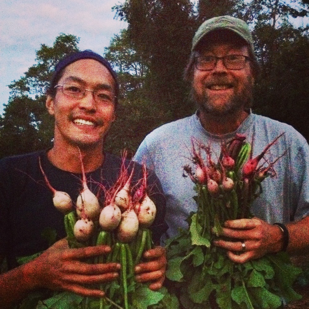 Happy farmers!