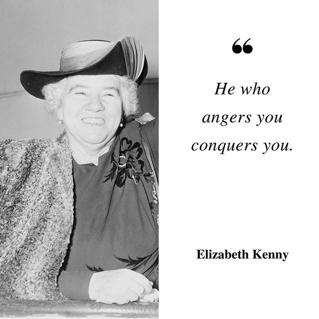 Elizabeth Kenny was a legendary WWI nurse who brought healing to soldiers using a no-nonsense approach to physical/mental health.