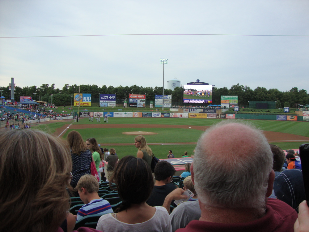 BlueClaws Game August 8, 2015