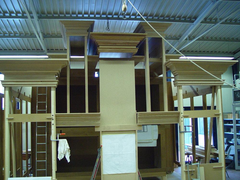 Vormontage In Der Werkstatt