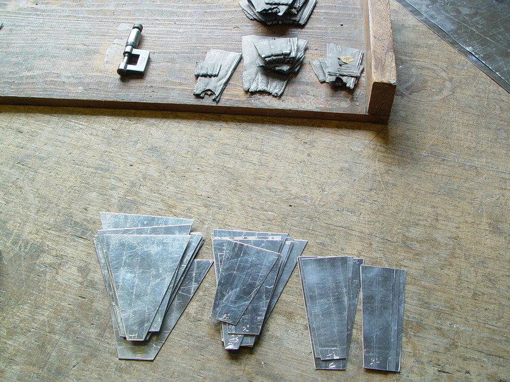 Restaurieren und Rekonstruieren von alten Pfeifenfüßen