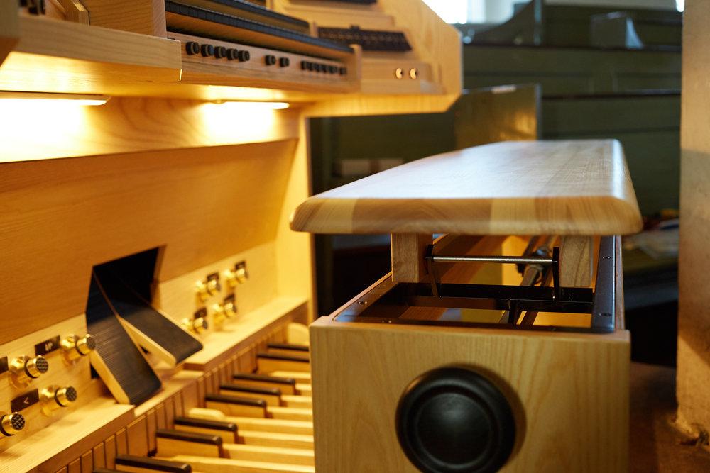 Orgelbank Aus Esche