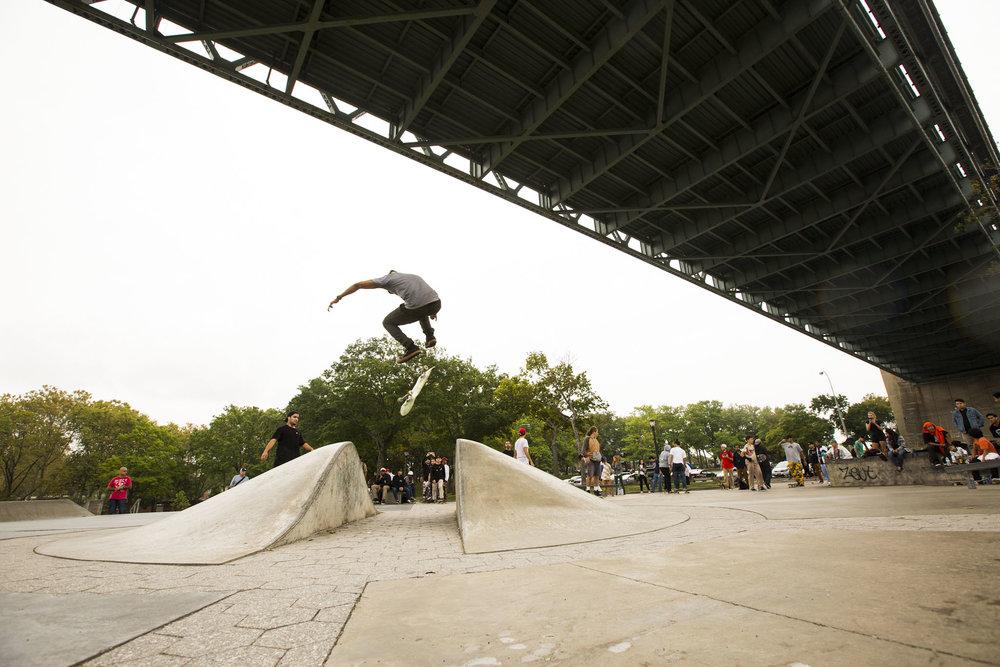 Derek Holmes - backside flip