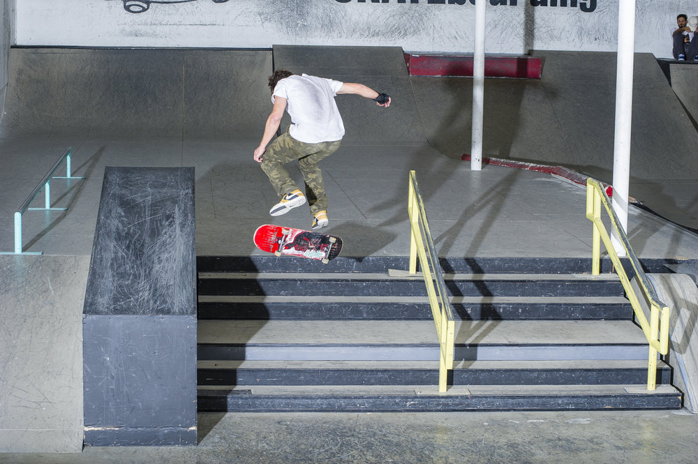 Joseph Cheeney - backside flip