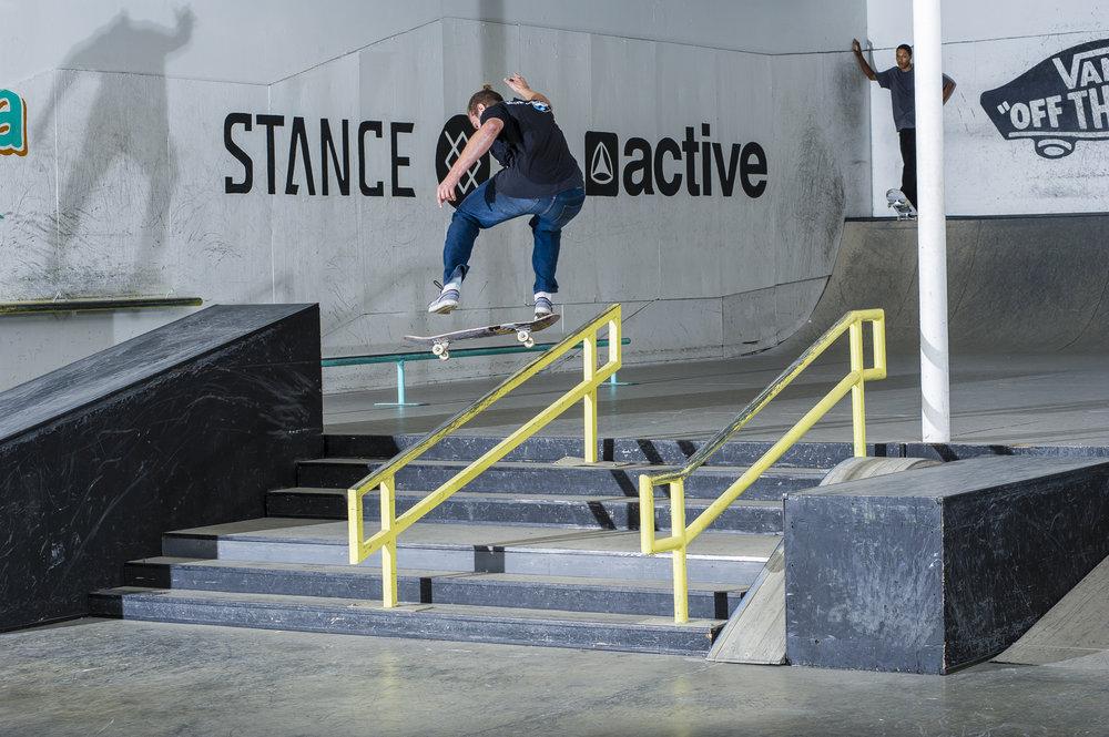 Jed Ackerman - kickflip front board