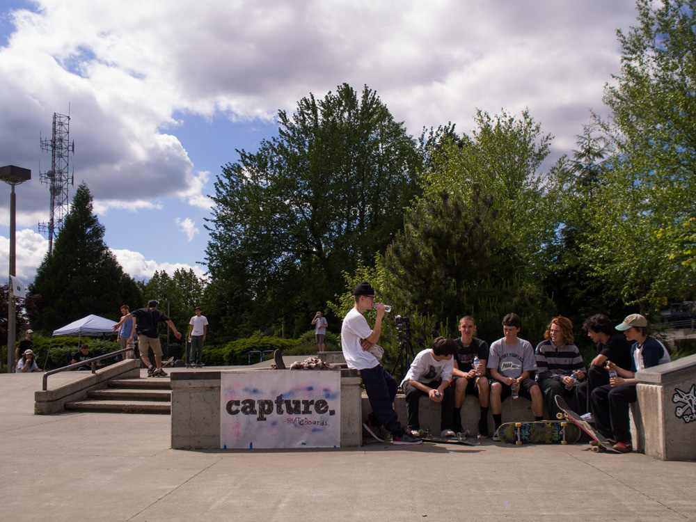 Thanks for being down,  Capture Skateboards .