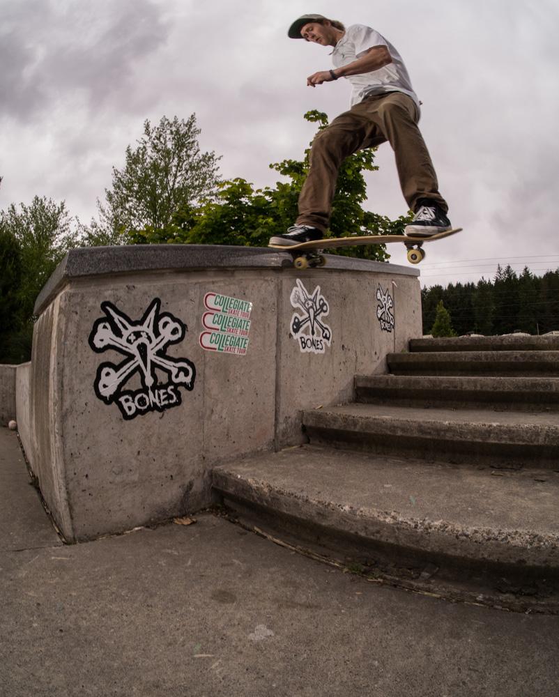 Dano Grover - frontside tailslide