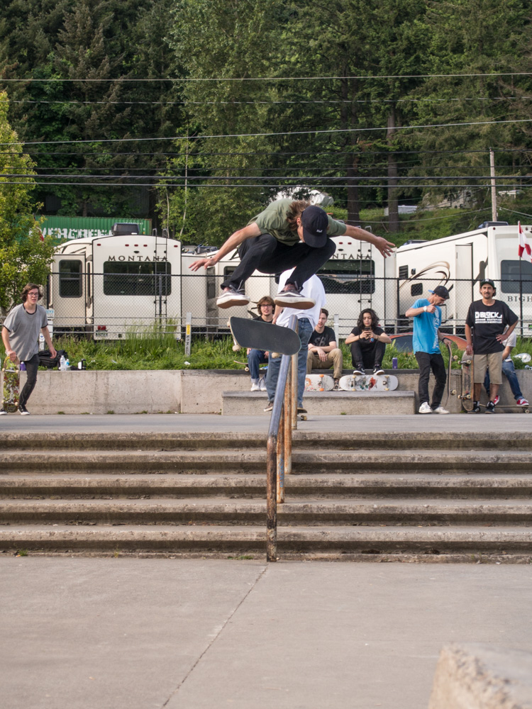 Dillon Walker laid down this beastly kickflip!