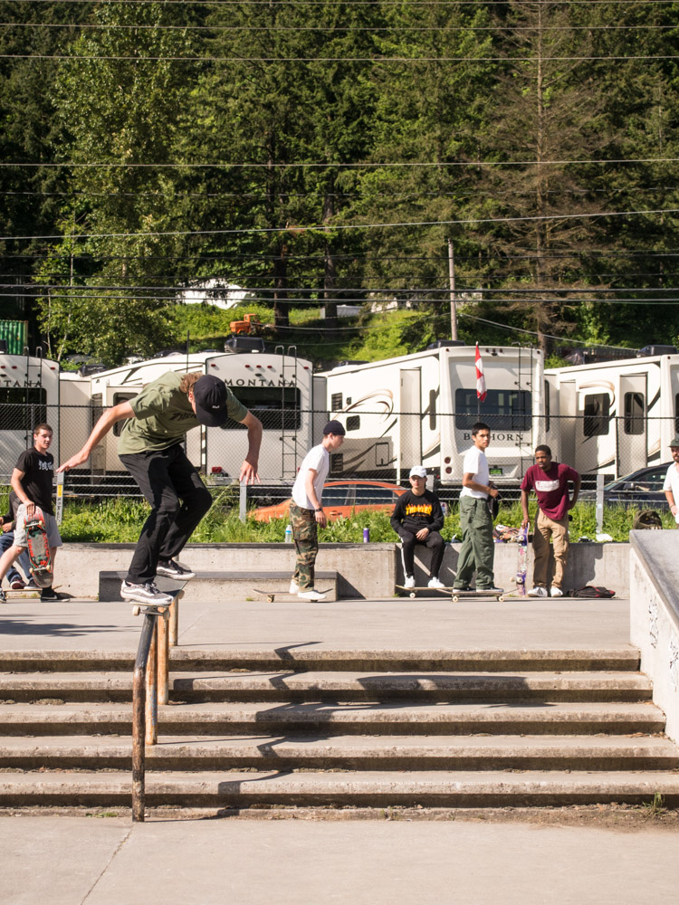 Dillon Walker - backside 50-50