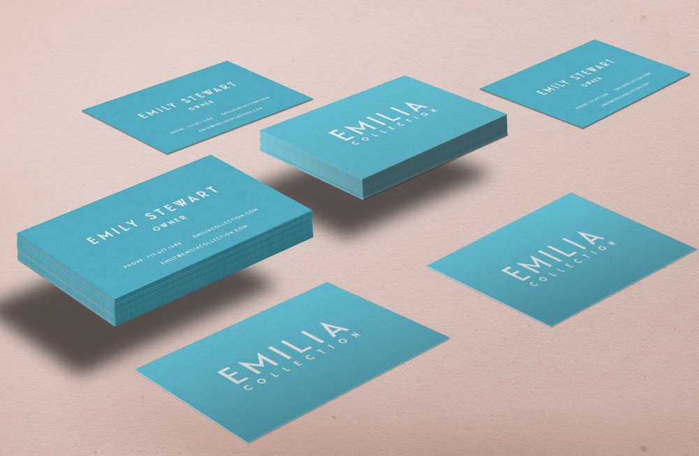 Emilia Collection / Biz Card Design