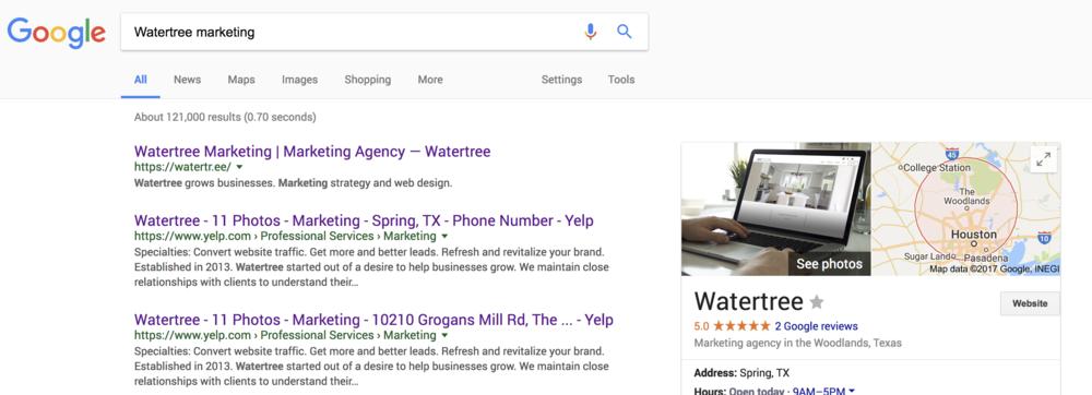 SEO Services Texas, Watertree Marketing