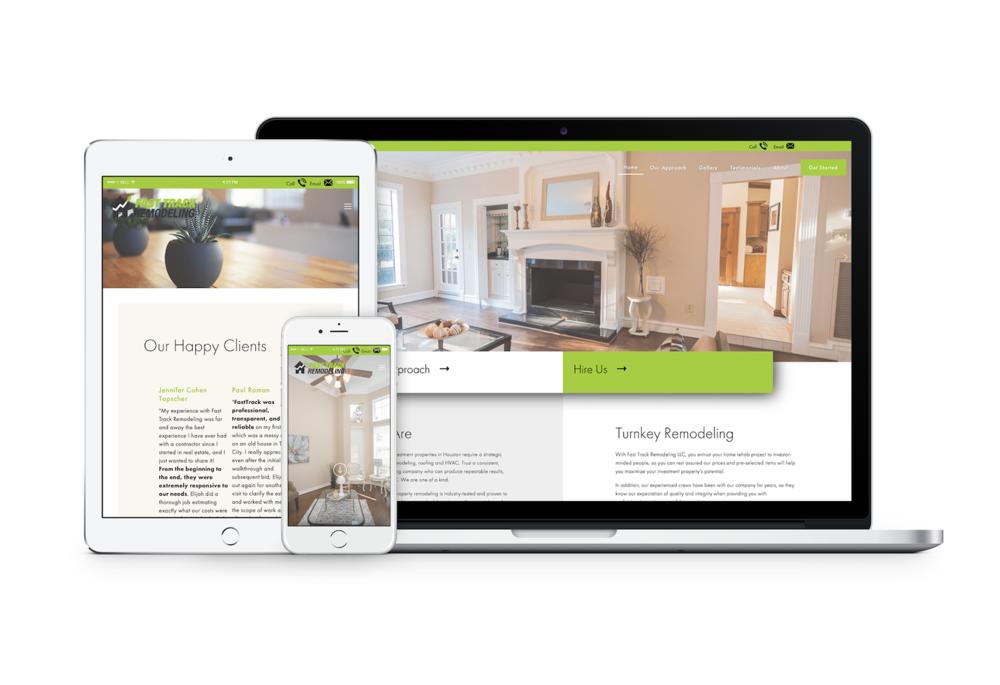 Fast Track Remodeling Website Watertree Digital Marketing