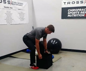 Picking up a box or laundry basket is the same motion (hip hinge) as a Kettlebell deadlift.
