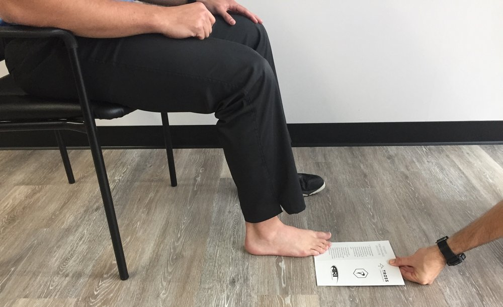 Paper grip test
