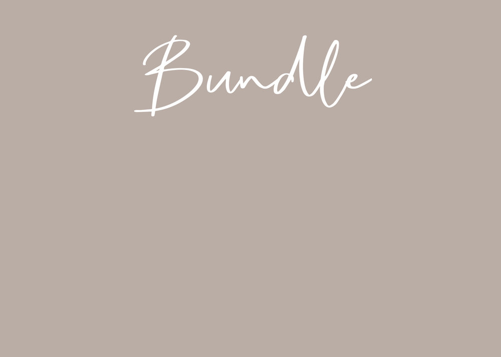 - bundle:Tempt me + the 'start here' collection above