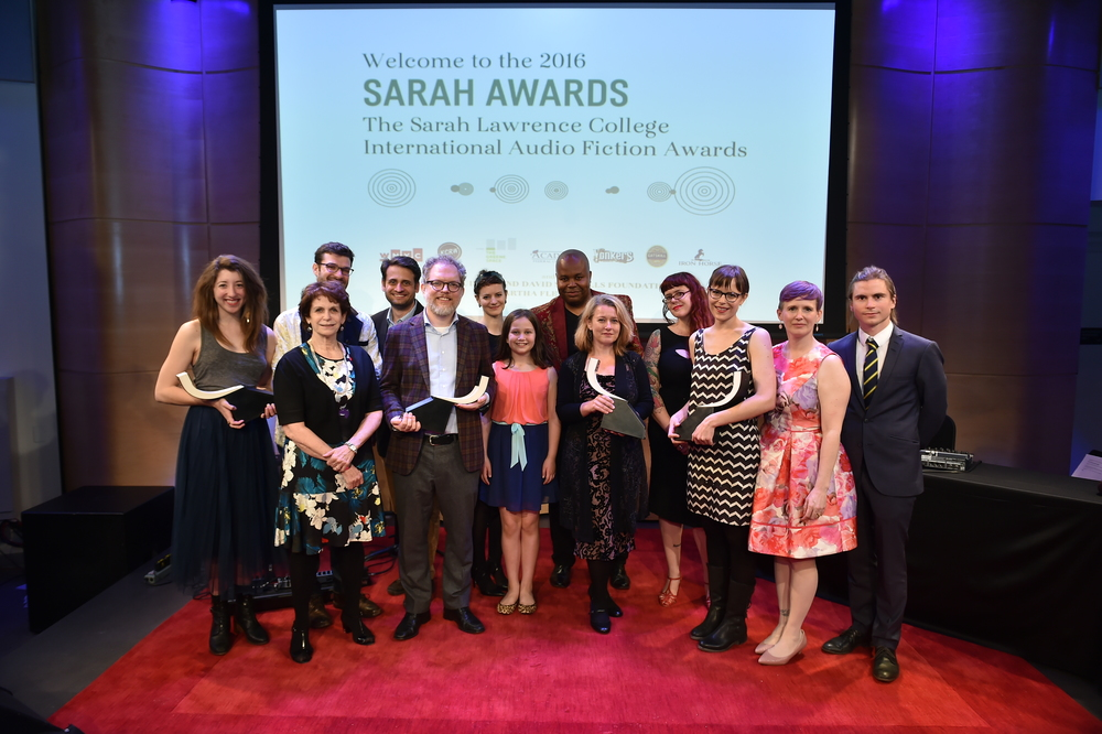 The 2016 Sarah Awards Winners!