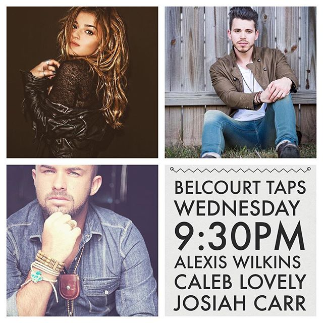 Good morning. THIS. Tonight. Come hang! @alexiswilkins @josiahcarrmusic