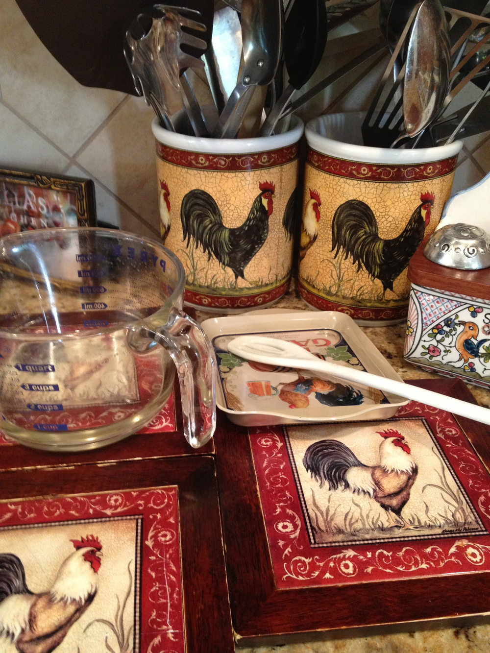 Roosters, Roosters -- everywhere!