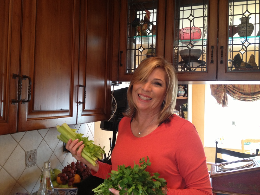 Julia shares her kitchen joy tips and advice