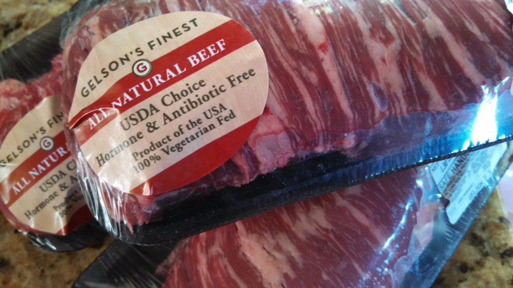 Skirt steak is the star of this meal. Start with the best from   Gelson's .