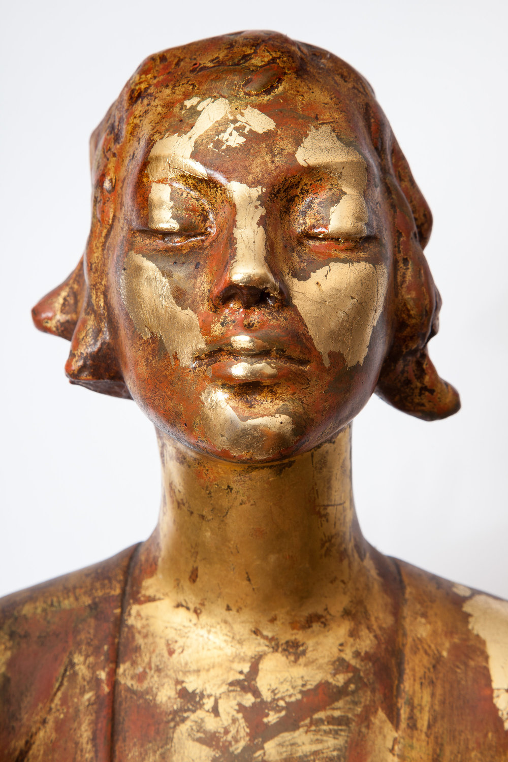 "Stam Gallery is honored to represent the estate sculpture content of Gertrude Vanderbilt Whitney's Old Westbury Studio and Gardens.     ""INTIMATE WORKS FROM HER STUDIO""    May 17 - July 15 2018   -   exhibit opening reception 6 PM May 17    Exhibition of never before seen by the public sculptural works ranging from small maquettes to monumental size works.    Gertrude Vanderbilt Whitney (1875 - 1942) is best known today as the founder of the Whitney Studio Club in 1918, a gathering and exhibit space for America's best artists, which by 1931 became formally known as the Whitney Museum of American Art. She was America's most influential patron of modern American art. She is much less remembered as an artist, a sculptor of great lifetime achievements, arguably America's most important public monument sculptor of her lifetime, including the ""Titanic Memorial""  in Washington, D.C.     Prior to the recent retrospective exhibition at the Norton Museum (now on a two year road trip to several museums around the country) the last time America visited her works was over 75 years ago at the Whitney Museum Memorial Exhibit, held immediately after her death in 1942. So her name as one of America's premier artists of the early years of the 20th century has receded into the art world's near ancient history.    In a recent review of the Norton Museum retrospective, the art critic Eric Gibson of the Wall Street Journal wrote:    ""Gertrude Vanderbilt Whitney is best known as the founder of the Whitney Museum of American Art. But she was also a sculptor, and a very good one. Her memorial to the victims of the Titanic, in Washington, is one of the greatest works of commemorative art ever produced in this country.""    Cornelius Vanderbilt II, Gertrude's father, was America's richest man in 1900. She was born into the uppermost reaches of American wealth and society. And she married Harry Payne Whitney, the heir to only modestly less of a fortune.    By the social standards of Old Westbury, Long Island and Newport, Rhode Island, commercialism was considered a coarse and low class activity. Within the circles of her family's social class, the Whitneys, Vanderbilts, Paynes, etc. being a creative artist would be marginally tolerated. However the act of selling art was totally unacceptable. Therefore, she was particular about having her sculptures produced directly under her personal supervision and, almost without exception, in editions limited to ONE. Since none were ever intended to be sold at exhibitions, there was no purpose in creating larger editions even for her most desirable works. So virtually every Whitney sculptural work is unique, one of a kind. No editions of multiples were allowed for Gertrude.    As many American sculptors of her generation, initially she was under the influence of Auguste Rodin. For Gertrude, Rodin's free handling of materials, along with her sometimes scandalous emotionalism of her subjects, represented both a new approach to sculpture and a way to relieve her0 long bottled-up frustrations.    Later she worked in a realist style that was more innovative for her time, the sculptural equivalent of works by her painter friends, the Ashcan School of painters, such as John Sloan, William Glackens, George Luks, Robert Henri and others, with whom she had shared  her work in numerous exhibitions.    In 1914 Whitney was awarded the commission for the Titanic Memorial in Washington, producing an over-life-size, loosely draped male figure standing with arms outstretched and face tilted slightly upward. In its combination of formal simplicity, rhetorical restraint and subtle symbolism, it has few equals in American public sculpture.    In the same year she sculpted ""Chinoise"" a life size image of  herself standing in the pose of a bodhisattva, reflecting an important part of her Asian visual iconography. The original model of this work is on view here at Stam Gallery, in its marble version it is in the permanent collection of the Whitney Museum. At the time of its creation it was considered highly important as her final break from classical and Rodin influences, and as her first ""new modern"" creation.    In the Stam Gallery show, along with a number of intimate family portraits of children and regal adults, stands a powerful figure of  Captain Guardabassi (1917), Gertrude's very close and intimate friend, dressed in his military uniform, with focused glaze bravely moving into the future. The work is full of emotion reflecting the artist's great affection and respect for him.    In some critics opinion 'The Law"" (sometimes referred to as ""Youth"") created in 1922 is the most extraordinary impressive carved stone image in this show. It depicts a young man in deep thought seated on a pair of symbolic wings. Is he contemplating all the mysteries of life or just choices of justice? In either case, it is a wonderful image from the artist's gardens in Old Westbury.    Art of the first half of the 20th century was dominated by male academics, artists and critics. Creative women of the time were allowed only into the fringes of the art world, and their standing in the community tended to reflect mild and paternal support, not dissimilar to the gentile attitudes of the rest of society toward the ""weaker gender"". In general, women artist's many and great contributions to movements of important art trends in America had been mostly dismissed."