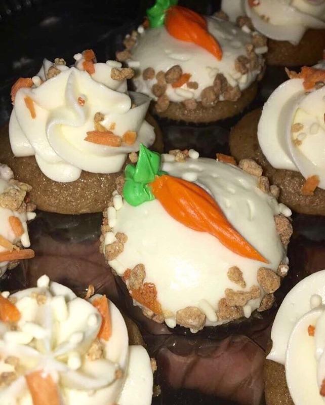 CARROT CAKE MINI'S