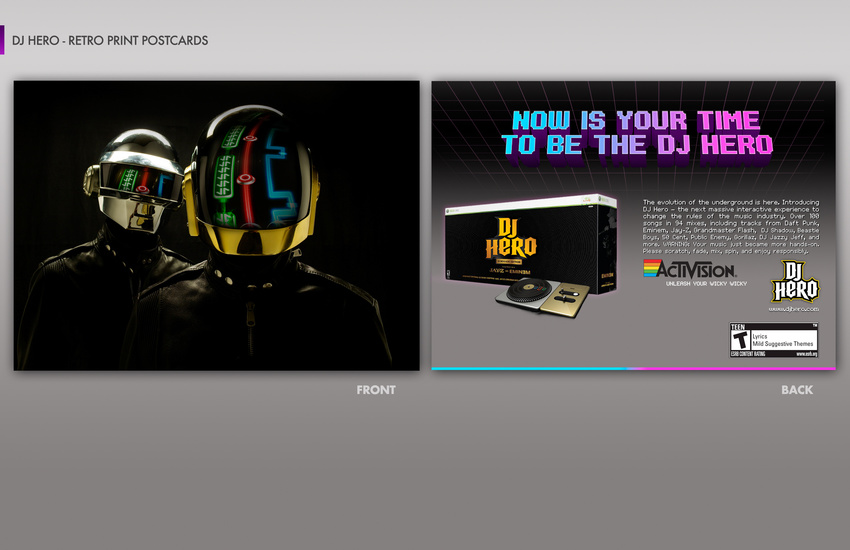 DJ Hero Print