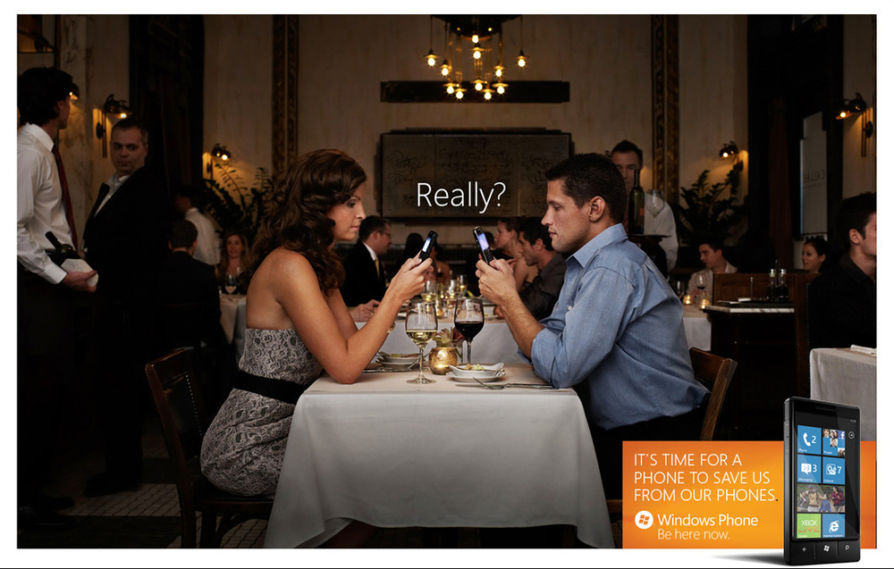 Windows Phone 7 - Print Campaign