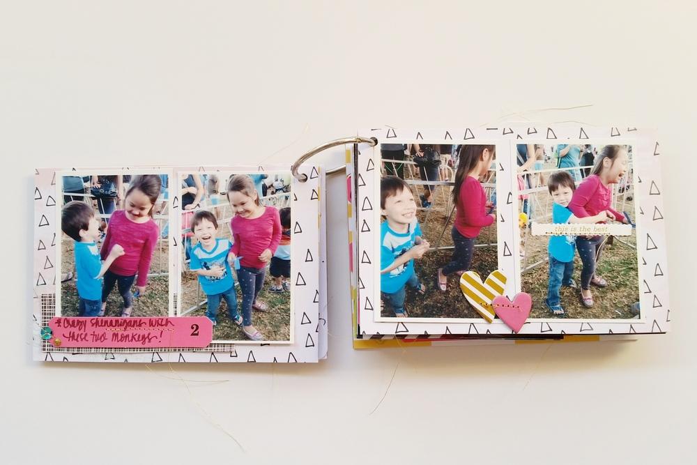 Punahou Carnival Mini Album Pgs 3 & 4