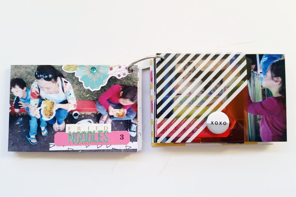 Punahou Carnival Mini Album Pgs 5 & 6