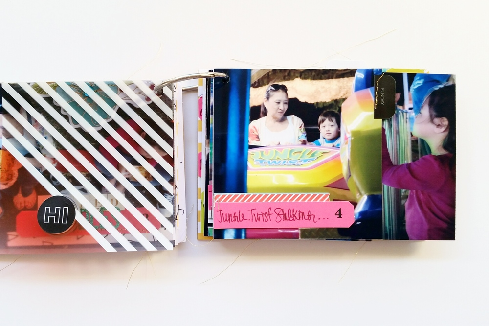Punahou Carnival Mini Album pages 7 & 8