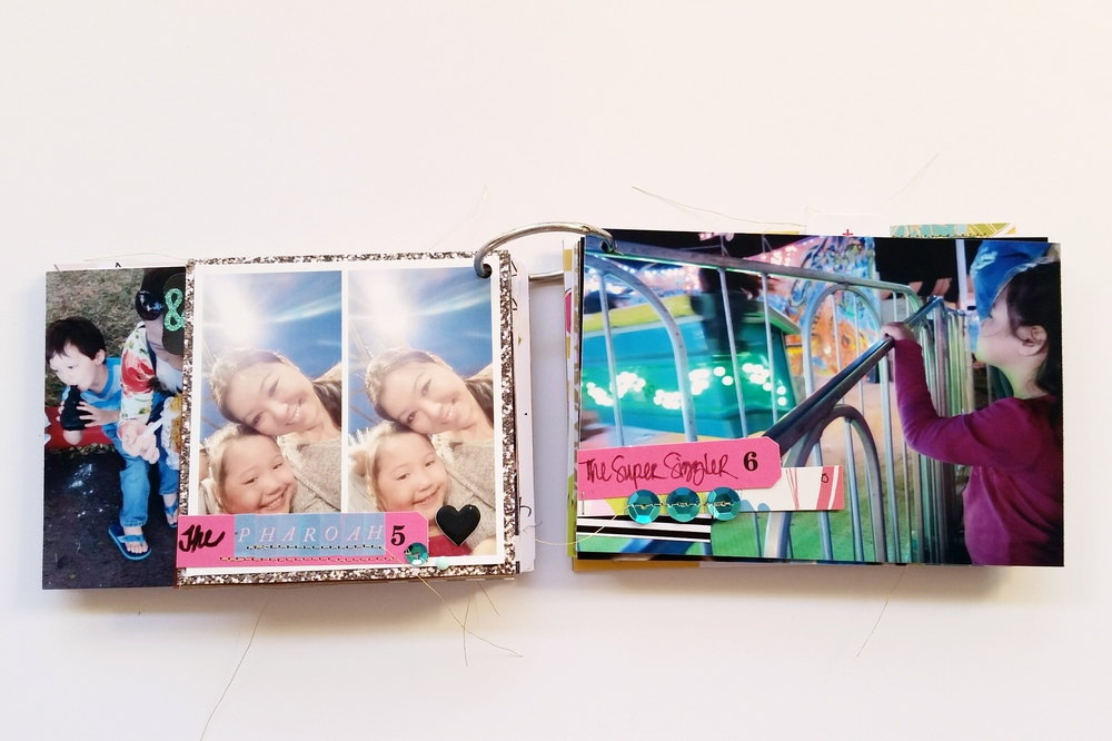 Punahou Carnival Mini Album pages 9 and 10