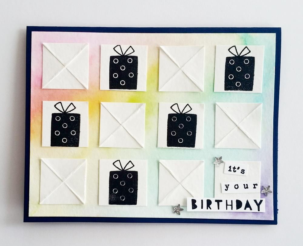 XOXO, It's Your Birthday card