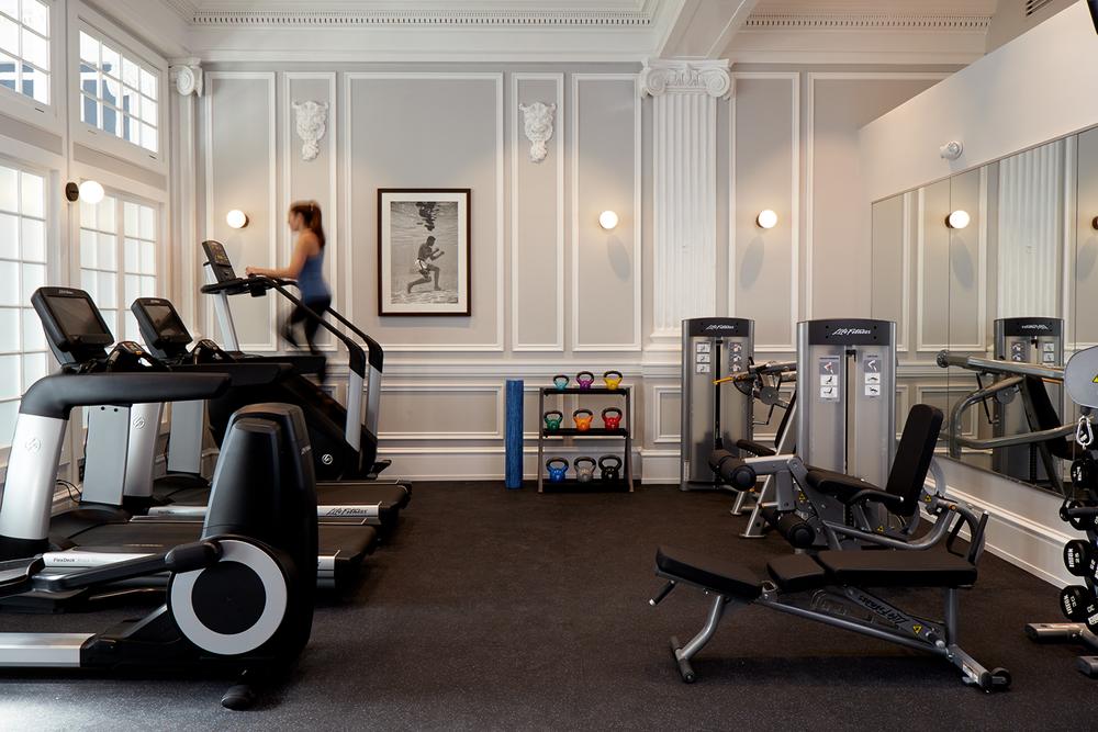 Touraine Fitness Center Machines