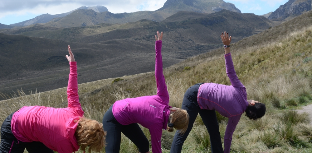Ecuador Mountain Views Inn   Be Challenged at New Heights    Yoga Retreats