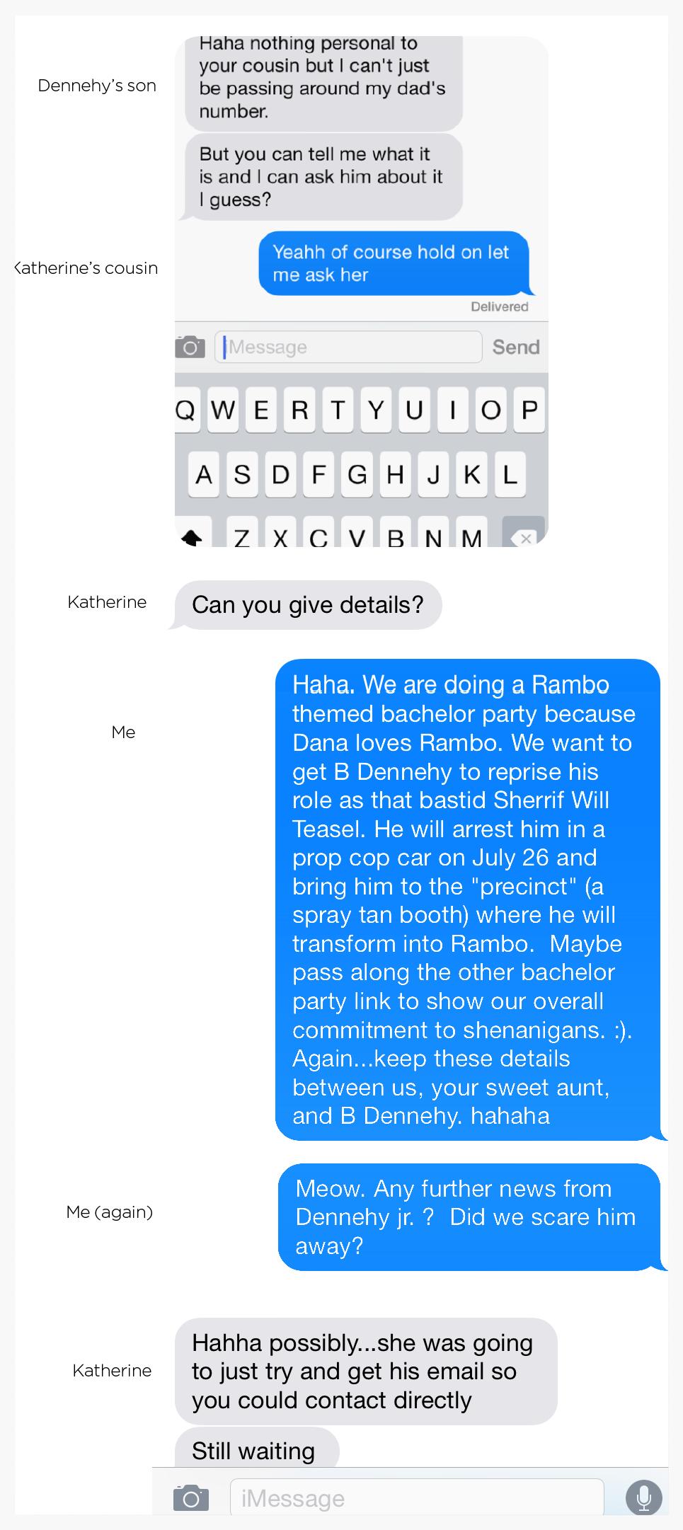 Should I Send Him A Random Text {Nhs Alumni}