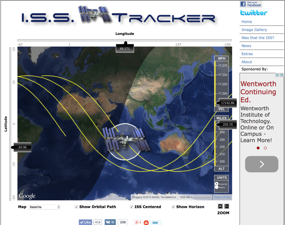 ISS Tracker 2.0