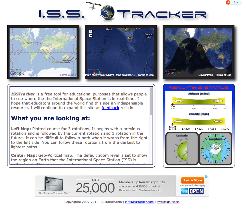 ISS Tracker 1.0