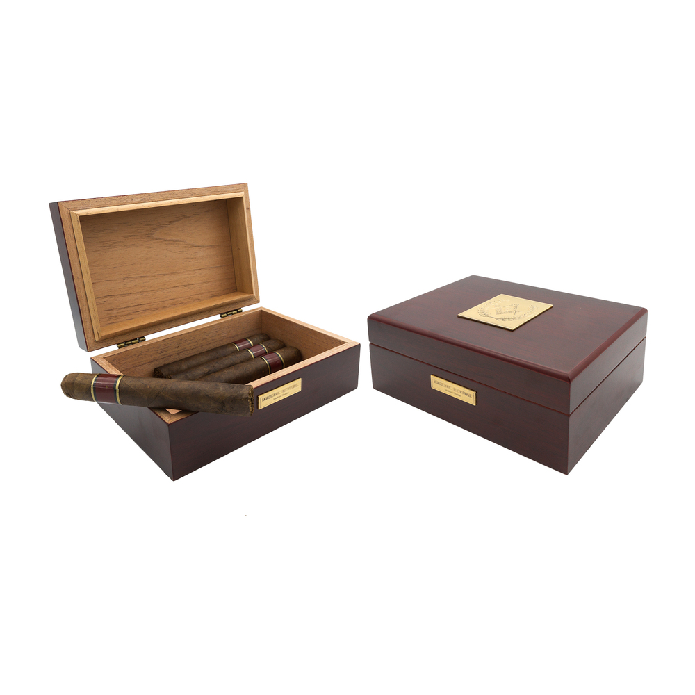 Cigar Humidors — Masonic Revival