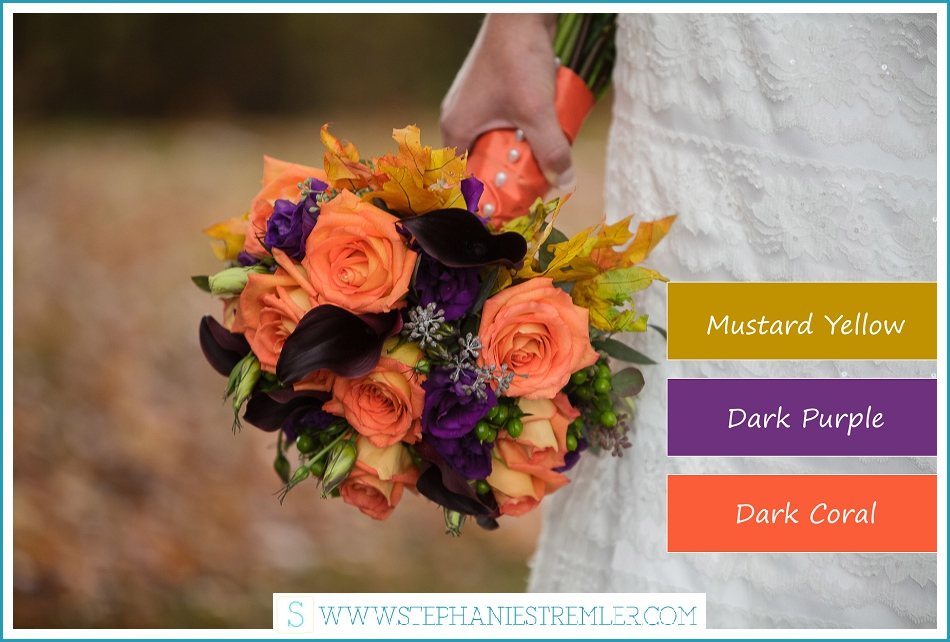 Fall Color Scheme Cool Of Fall Wedding Color Schemes Ideas Image