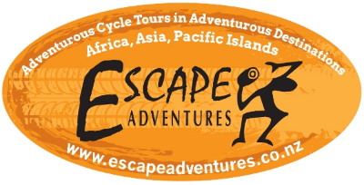 Escape Adventures Adventurous Cycle Tours in Africa, Asia and the South Pacific Our full time passion is creating and leading adventurous cycle tours in stunning and interesting locations around the world.  We are driven by the reward that comes with creating and leading tours that will touch your soul and stay in your memory forever.     www.escapeadventures.co.nz     tel:+64-3-525-8783